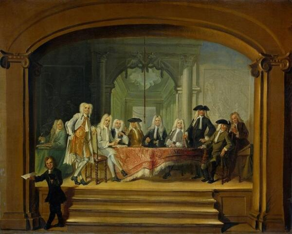Корнелис Трост, «Регенты католического детского дома». Чем занимались эти люди?