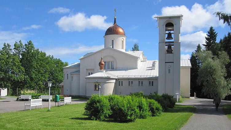 Преображенский собор Нововалаамского монастыря