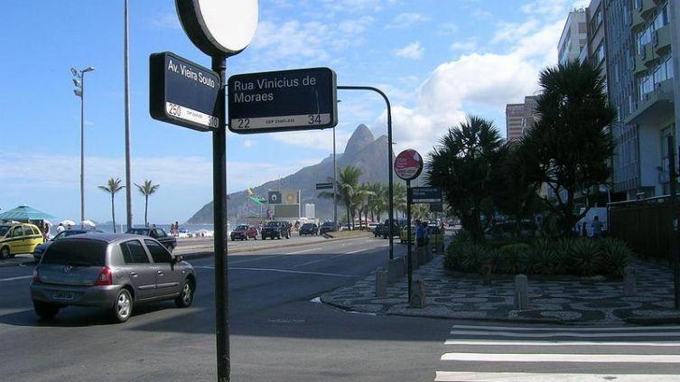 Та самая улица в Рио-де-Жанейро, по которой когда-то проходила «Девушка из Ипанемы»