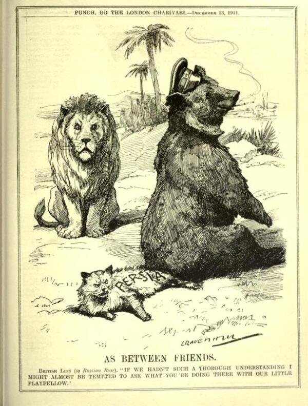 Карикатура времён
