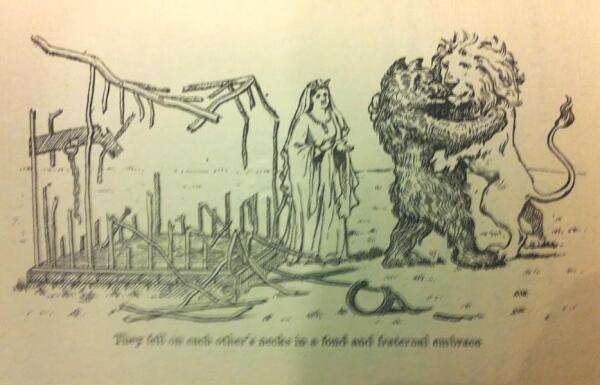 Рисунок из книги Якова Прилукера, 1911 г.