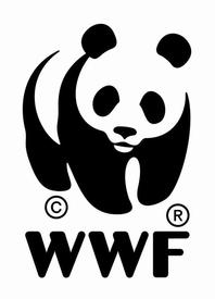 Логотип Всемирного фонда дикой природы (World Wildlife Fund).