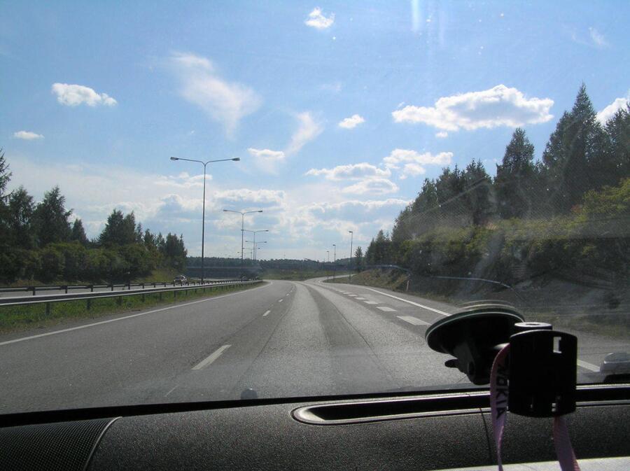 Автобан вблизи Ростока