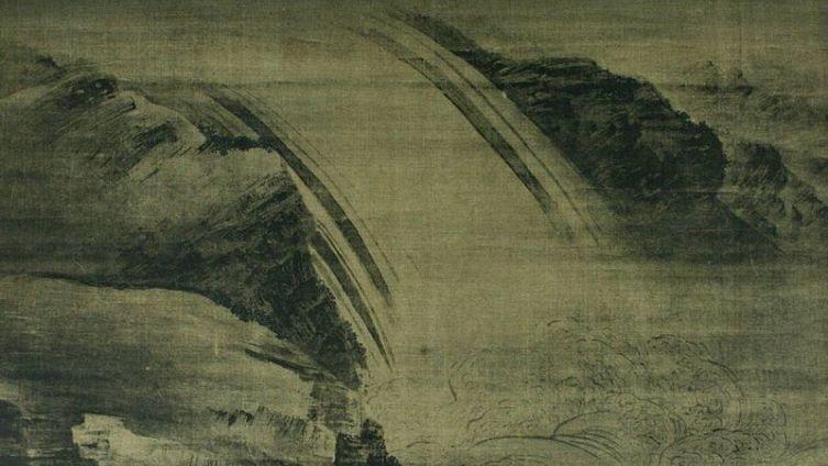 «Водопад» (картина, приписываемая Ван Вэю)