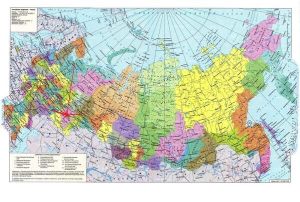 Как вы знаете географию России?