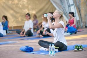 В каком ритме прошло твоё лето? Программа BonAqua «Мы пьем воду»