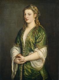 Тициан, Портрет леди, 98×74 см, National Gallery of Art, Вашингтон, США