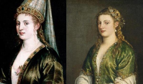Роксолана и Сулейман Великолепный. Где их видел Тициан?