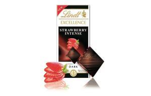 Вы уже пробовали новое сочетание вкусов от Lindt? Встречайте: горький шоколад и клубника