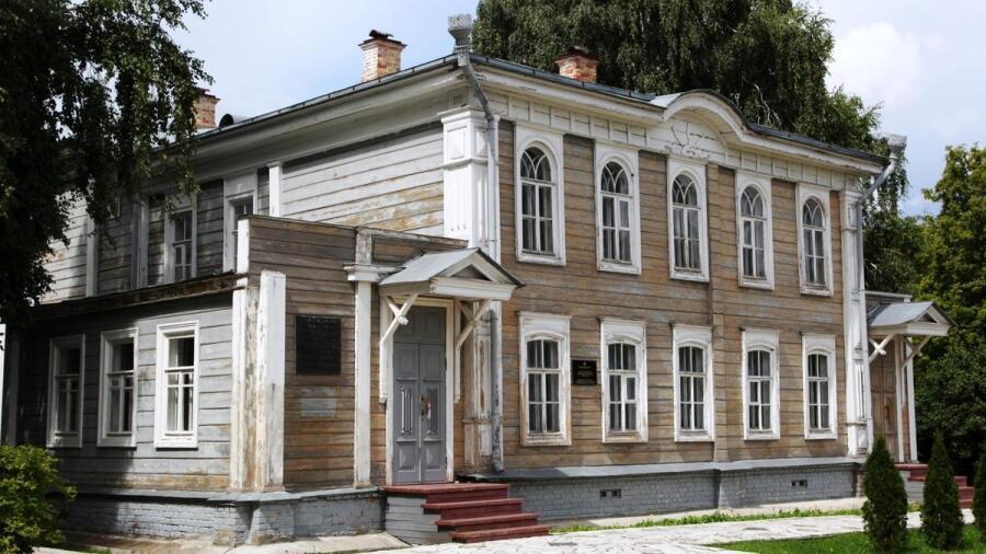 Дом Жарковой, в котором родился брат Ленина Дмитрий