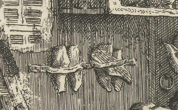 Корнелис Дюсарт, Искусный башмачник, фрагмент «Колодки»