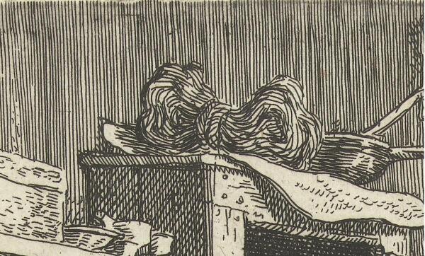 Корнелис Дюсарт, Искусный башмачник, фрагмент «Моток суровых ниток»