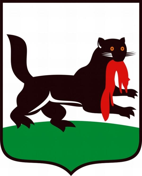 Соболь на гербе Иркутска.