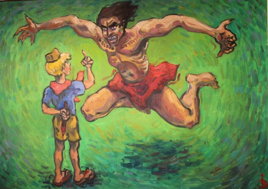 Картина Иннокентия Баранова
