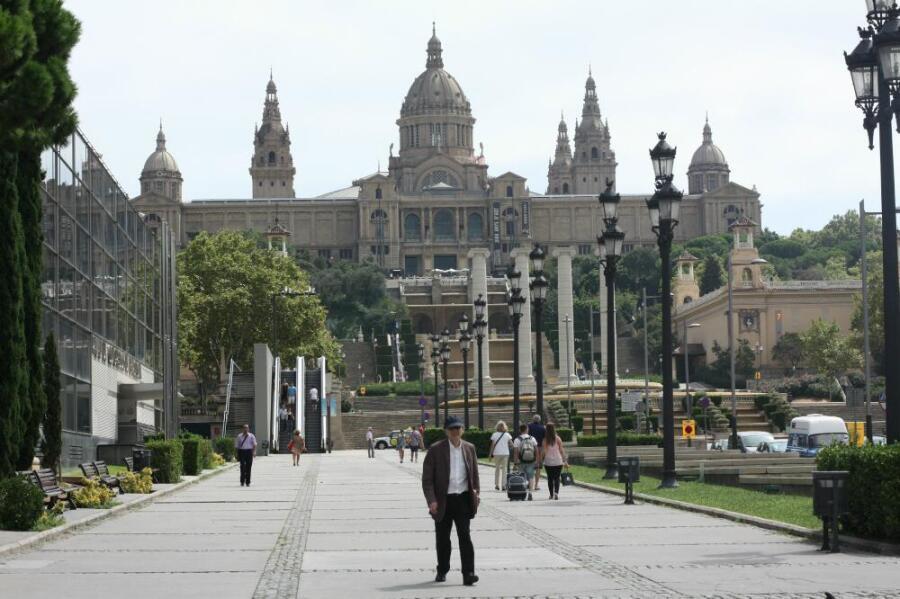 Национальный художественный музей Каталонии.