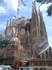 Собор Sagrada Familia