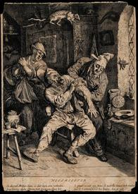 Дюсарт Корнелис, Хирург обрабатывает руку пациента