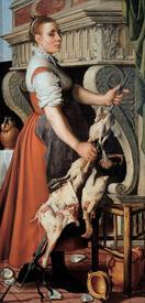 Питер Артсен, Повариха, 1559, 171х85 см, Musei di Strada Nuova, Генуя, Италия