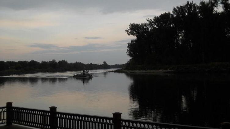 Слияние рек Струмень и Пина