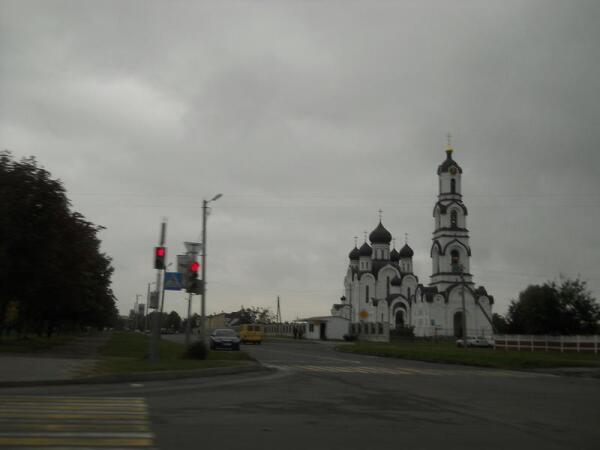 Новый Храм пресвятых Петра и Февронии