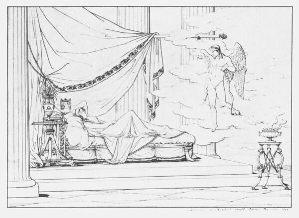 Иллюстрация к поэме И. Богдановича
