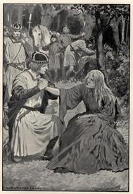 Иллюстрация к сказке «Отвратительная леди»