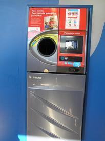 Автомат по приему пластиковой и металлической тары
