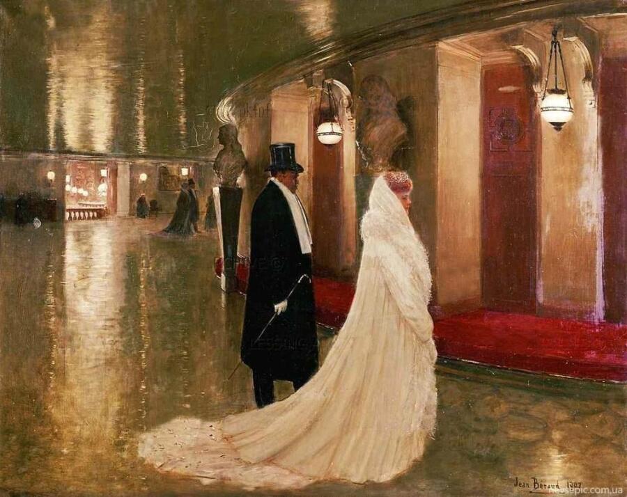 Жан Беро, У входа в фойе оперы