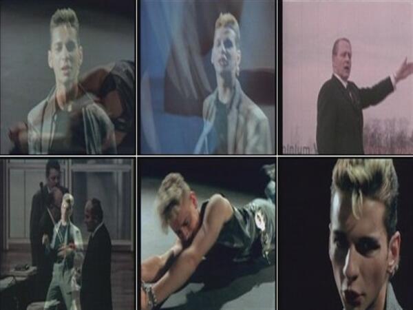 Depeche Mode в клипе Master and Servant