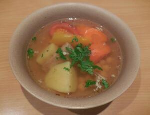 Можно ли приготовить сырой суп? Хомшурбо