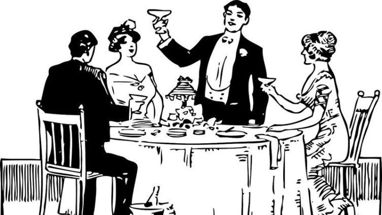 Можно ли кричать мужчинам за новогодним столом? Нужно! Праздничные застольные кричалки