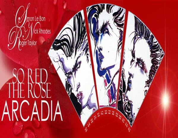 Арт-обложка буклета к альбому So Red The Rose