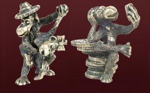 Подбираете новогодний подарок? В России появились серебряные и бронзовые обезьяны