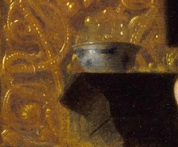Питер де Хох, Приятная компания, фрагмент «Китайская чаша»