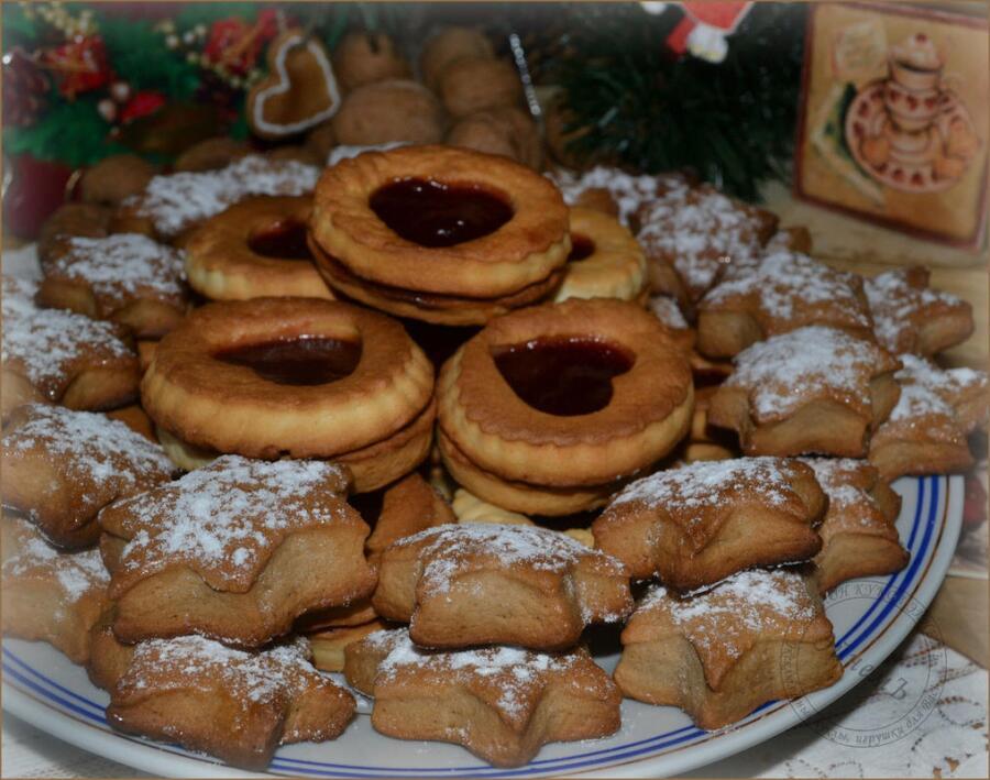 Как приготовить печенье к новогоднему столу?