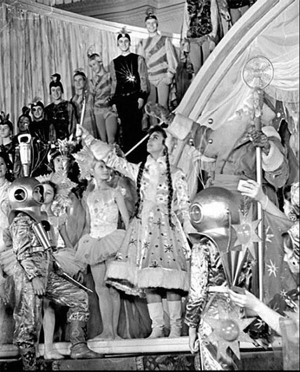 Кремлевская ёлка 1960 года