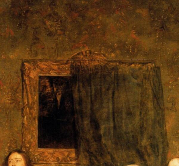 Габриэль Метсю «Семейство Хинлопена», фрагмент «Картина»