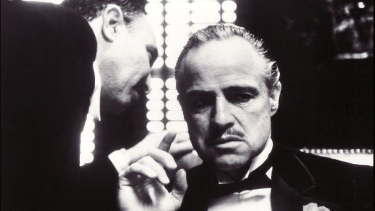 Кадр из фильма «Крёстный отец»