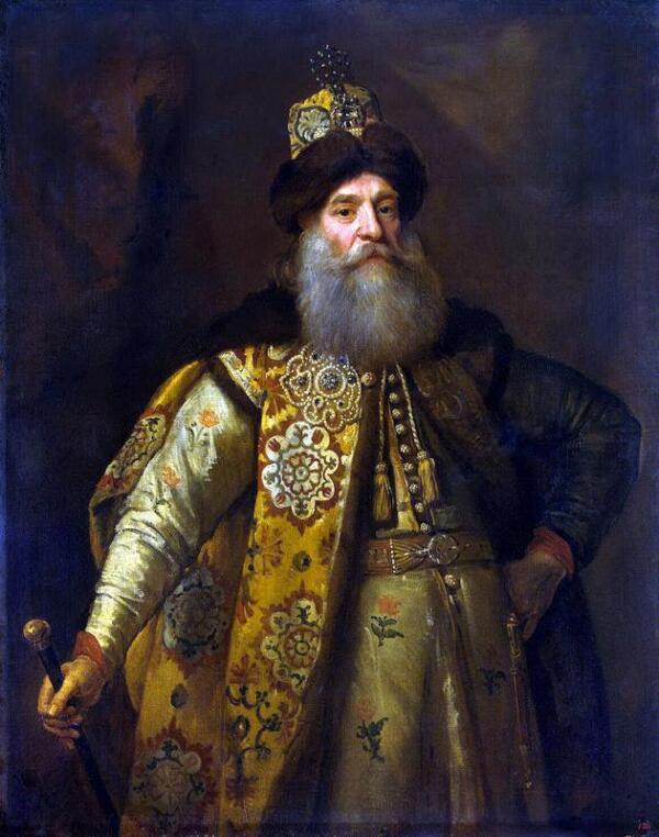 Русский боярин Пётр Потёмкин