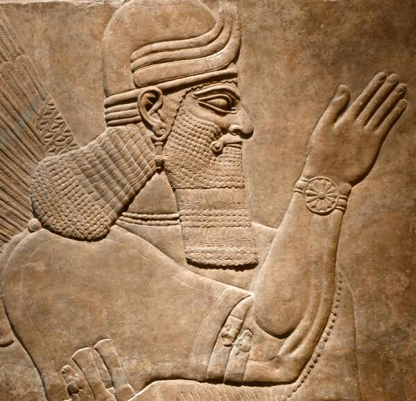 Ассирийский царь АшурнасирпалII