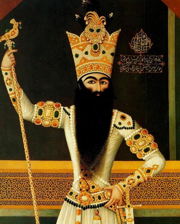 Фетх Али-шах— второй шах Ирана