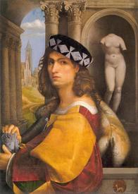 Автопортрет Доменико Каприоло, 1512 г.