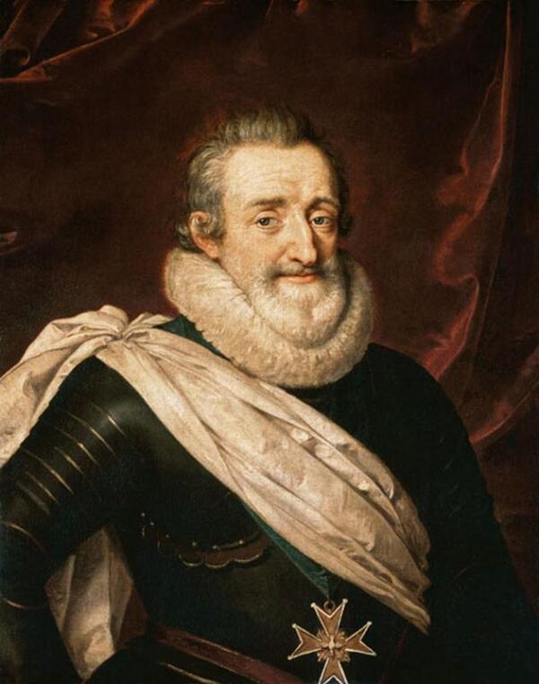 Французский король Генрих IV