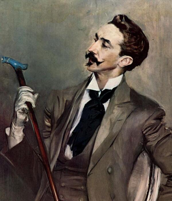 Портрет Роберта де Монтескье.