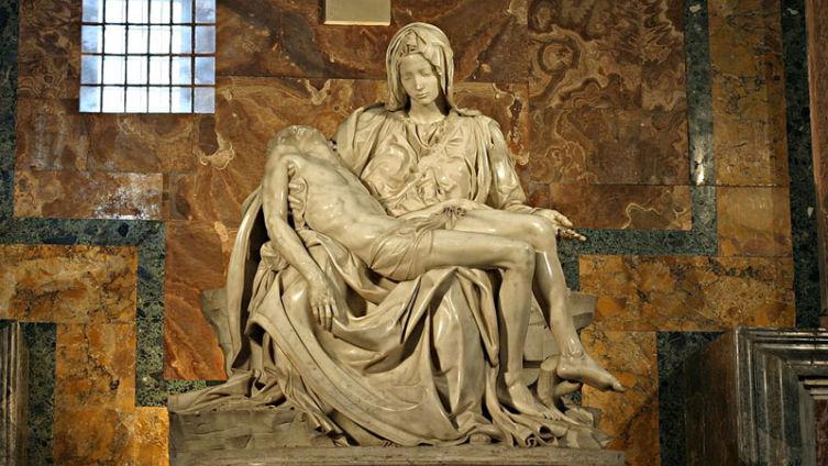 «Оплакивание Христа» — пьета Микеланджело
