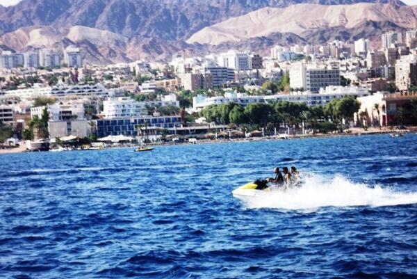 Водные развлечения в заливе Акаба