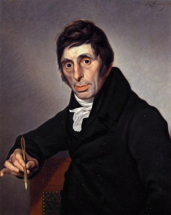 Питер Кристоффель Вондер, портрет Абрахама ван Стрия, 1812, музей Дордрехта, Дордрехт, Нидерланды