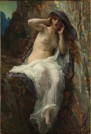 Александр Кабанель, Эхо, 1874, 98х67 см, Метрополитен музей, Нью-Йорк, США