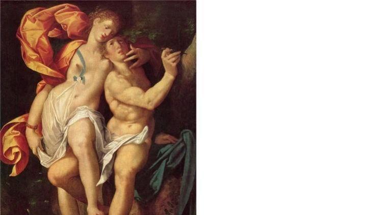 Бартоломеус Спрангер, «Медор и Анджелика». Кто они?