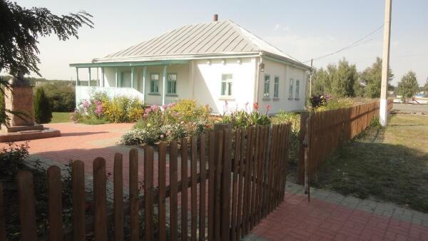 Село Обуховка. Дом, в котором родился и умер В. Ерошенко
